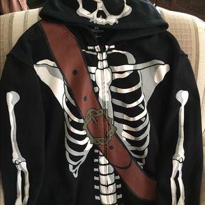 Disney Parks men's skeleton jacket